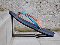 Женские вьетнамки Rider R1. Синий с оранжевым.