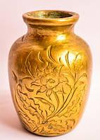 Антикварная очаровательная ваза! Бронза!