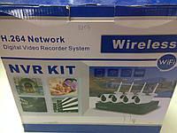 Записывающее устройство КИТ 4 КАНАЛ Wi Fi 6004 002 W
