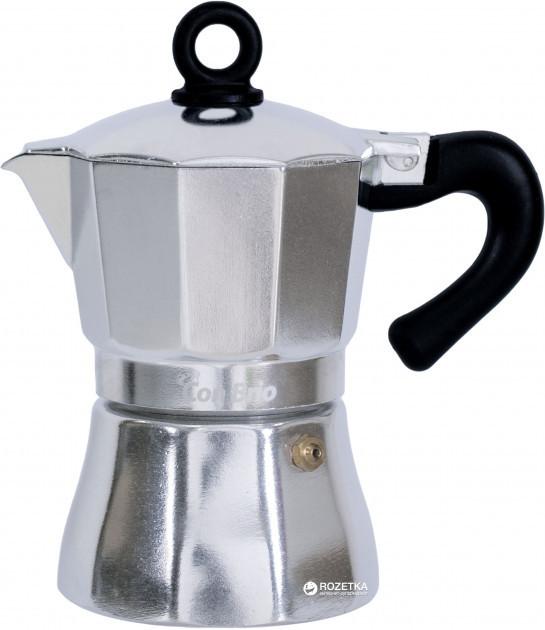 Кофеварка гейзерная Con Brio CB-6503 150 мл. 3 чашки