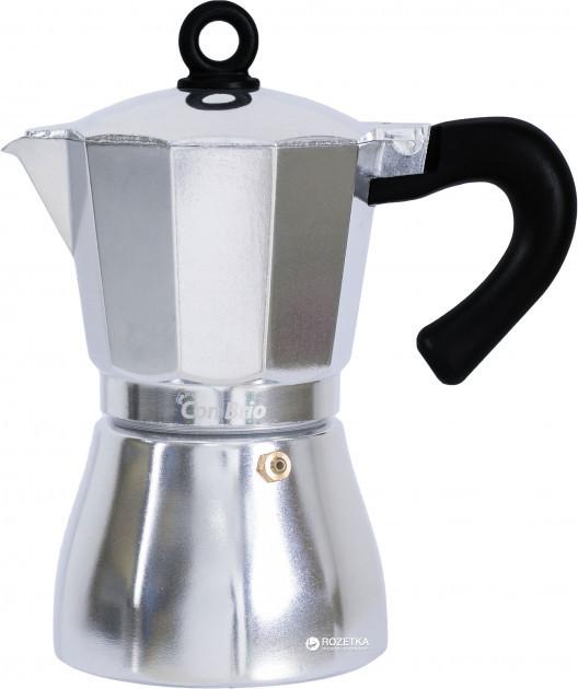 Кофеварка гейзерная Con Brio CB-6506 300 мл. 6 чашек