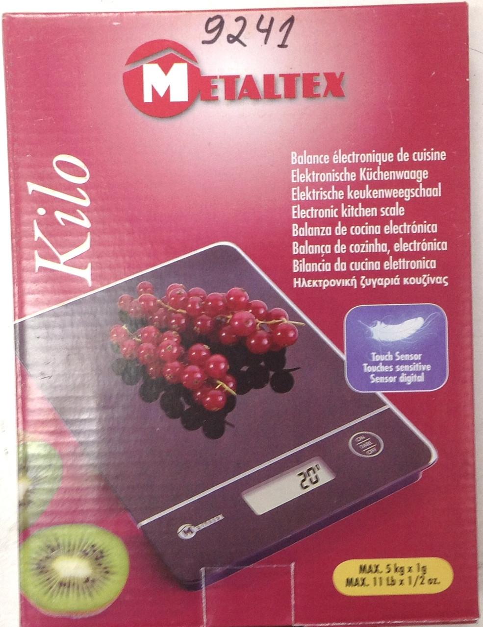 Весы Metaltex-9241