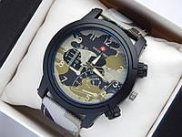 Мужские (Женские) кварцевые наручные часы Swiss Army ремешок из ткани (полиэстера), зимний камуфляж, Air Force