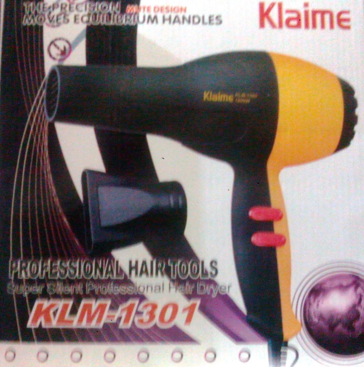 Фен для волос Klaime KLM-1301