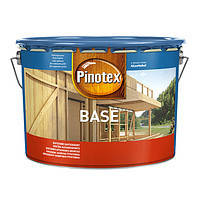 Грунтовка для дерева Pinotex Base бесцветная, 10 л