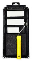 Набор малярный Мольтопрен 100 мм – 2шт., Мольтопрен 70 мм, ручка, кюветка