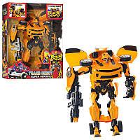 Трансформер 4070 Bumblebee, TF, звук, свет, 35 см. Робот-трансформер Бамблби.