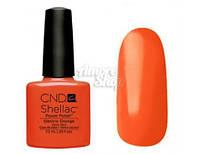 Гель-лак CND Shellac оранжевый