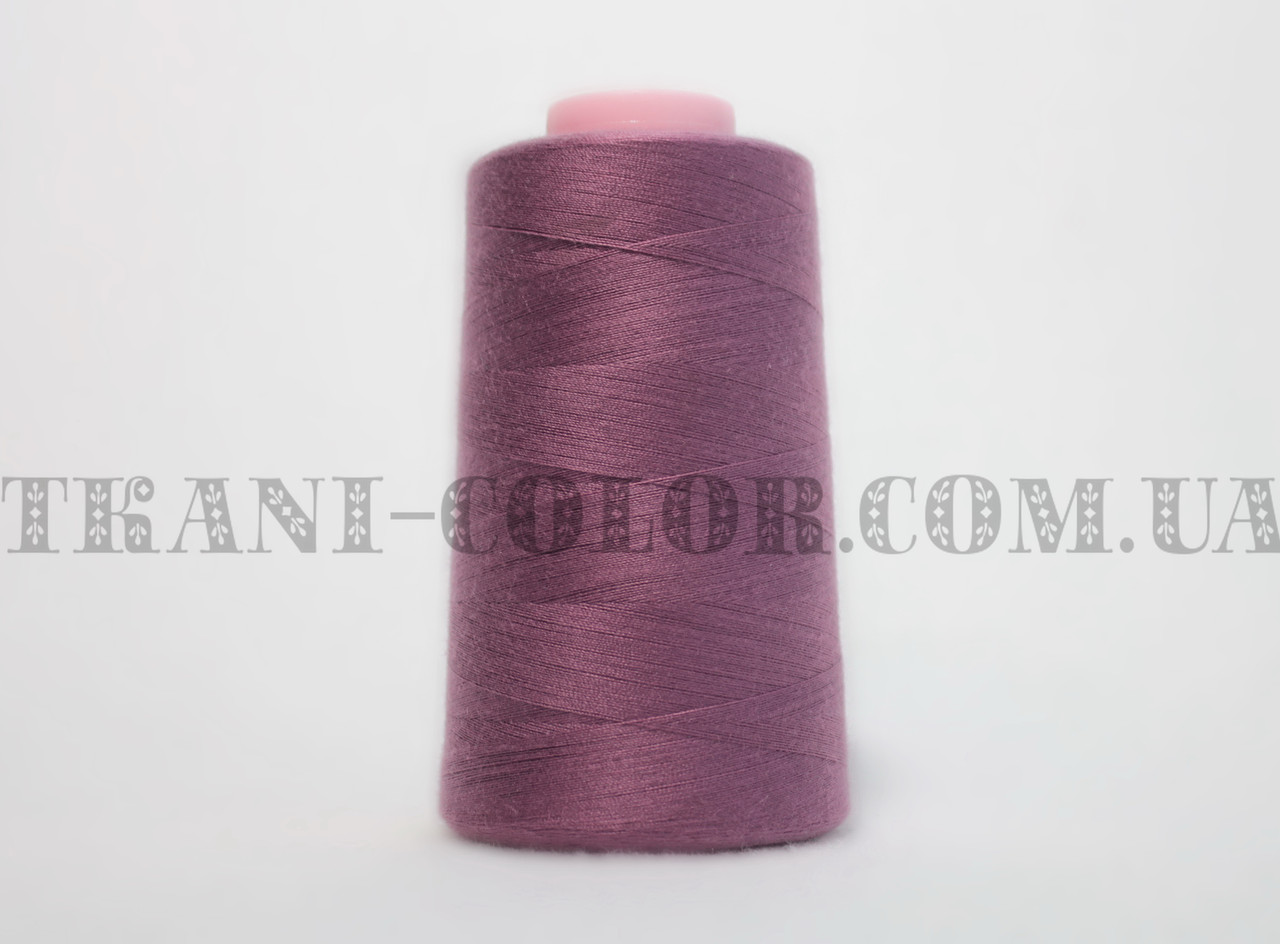Нитка швейная 40/2 лиловая 4000 ярдов