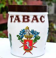 Оригинальный сосуд,банка для хранения табака!