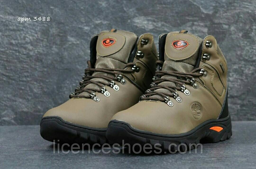 Чоловічі коричневі зимові черевики Timberland