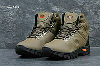 Мужские коричневые зимние ботинки Timberland