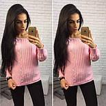 Женский модный вязаный свитер (4 цвета), фото 3