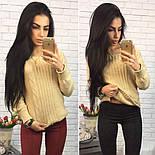 Женский модный вязаный свитер (4 цвета), фото 4