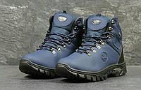 Мужские синие зимние ботинки Timberland