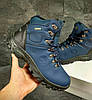 Мужские синие зимние ботинки Timberland. Последняя пара 40 на ногу 25.5см стелька 26см, фото 7
