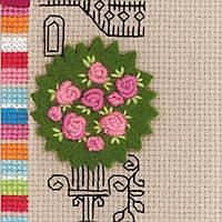 Набор для вышивания крестом Риолис 1580 Панно для фотографии Замок принцессы