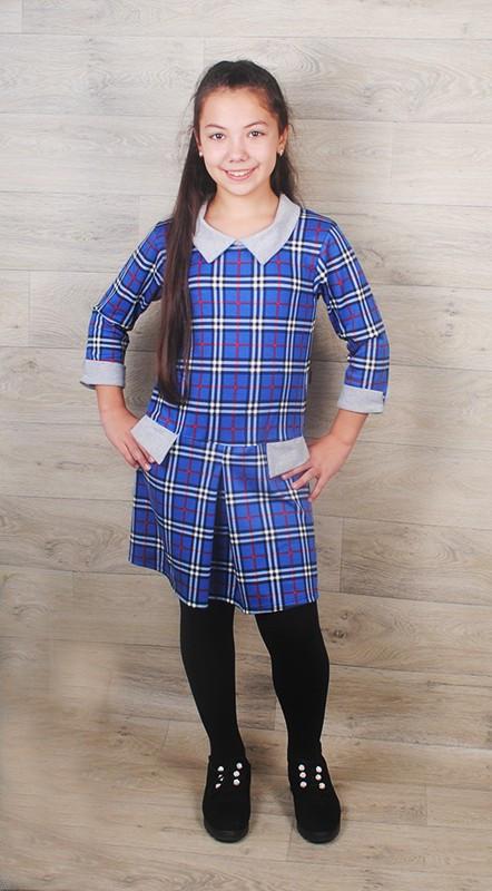 Платье детское (французский трикотаж) разные расцветки и узоры