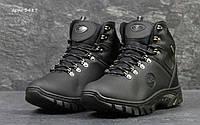 Мужские черные зимние ботинки Timberland