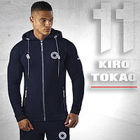 Спортивный костюм для мужчин Kiro tokao 156 т.синий-серый
