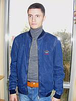 Джинсовая мужская куртка PAUL S SHARK