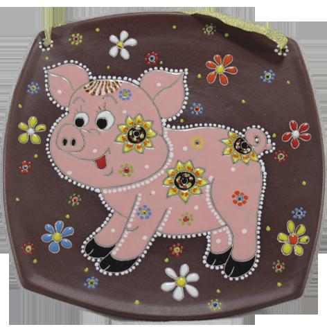 Тарелка (б.кв.) «Свинья»