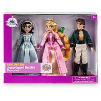 Игровой набор Принцесса Рапунцель, Кассандра и Юджин (Tangled: The Series Mini Doll Set), Disney
