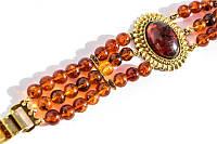 Очаровательный винтажный браслет! Под янтарь!
