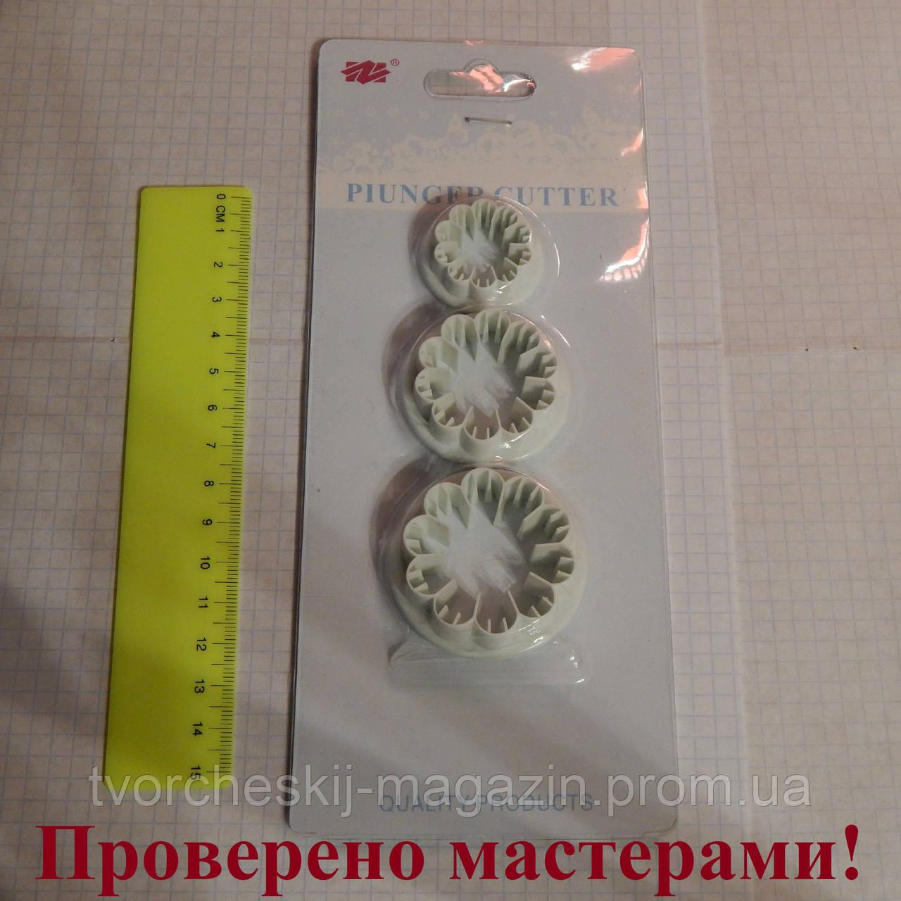 Вырубка гвоздика (пластик) 3 шт. набор