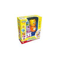 Развивающая игрушка BeBeLino Пирамидка Веселая ферма (57030)