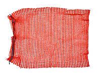 Сетка-мешок для упаковки овощей с завязкой зеленая, 45х75 см, до 30 кг, для капусты