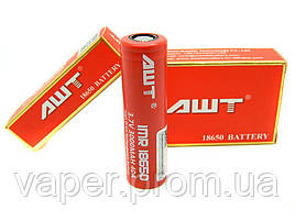 Высокотоковый Li-ion аккумулятор AWT IMR18650 3.7V 3000mAh (до 40А)