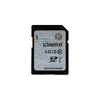 Карта памяти KIingston SDXC 64Gb G2 (CLASS 10) UHS-I (SD10VG2/64GB)