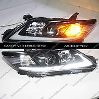 Альтернативная оптика Toyota Camry V40 тюнинг-оптикa Lexus style