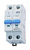 Автоматический выключатель BM 4.5кА 2P 25А х-ка B 30 ° С Schrack
