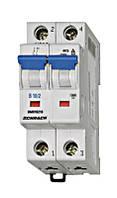 Автоматический выключатель BM 4.5кА 2P 40А х-ка C 30 ° С Schrack