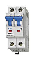 Автоматический выключатель BM 6кА 2P 63A х-ка B 30 ° С Schrack