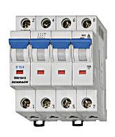 Автоматический выключатель BM 6кА 4P 40A х-ка C 30 ° С Schrack
