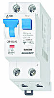 Дифференциальный автоматический выключатель переменного тока 6кА / 30мА 1P + N 16A х-ка C Schrack