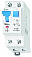 Дифференциальный автоматический выключатель переменного тока 6кА / 30мА 1P + N 20A х-ка B Schrack