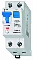 Дифференциальный автоматический выключатель переменного тока 6кА / 30мА 1P + N 6A х-ка C Schrack