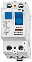 Устройство защитного отключения BC 6кА / 30мА 2P 63А тип AC Schrack