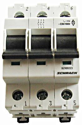 Главный выключатель нагрузки BZ9 3P 100A Schrack