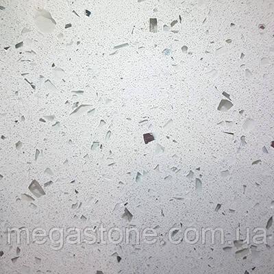 Искусственный кварцевый камень White 0001М