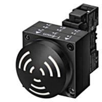 Акустический индикатор, непрерывного звучания, 2,4 кГц, в сборе, 230В / AC / DC IP65 Scha