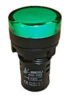 Индикаторная лампа, зеленая, 230