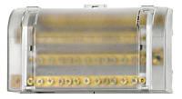 Блок ответвительных клемм главной электрической линии 1P 125A (вход 1 × 35 мм², выходы 6 × 16 мм²) Schrack