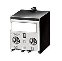 Блок вспомогательных контактов размера 00, 1 НО вход снизу Schrack