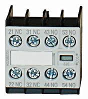 Блок вспомогательных контактов размера 00, 2НВ + 2НЗ Schrack