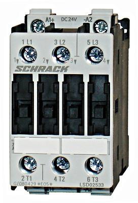 Контактор LSD0 3P 25А 11кВт 230В / AC3 Schrack